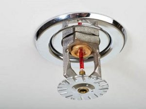 Without Fire Sprinkler Safety